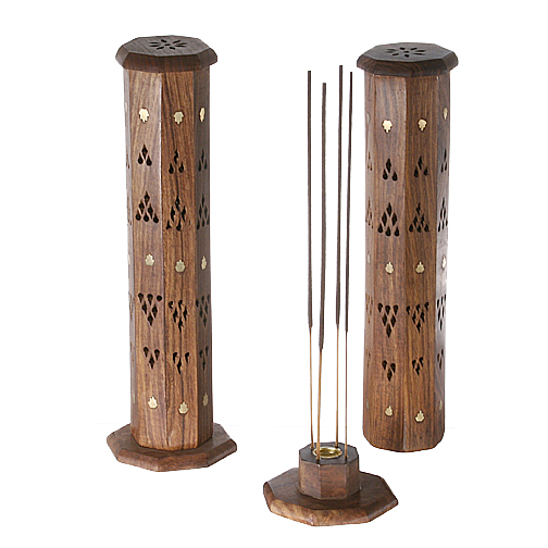 Wooden Incense Holders & Accessories